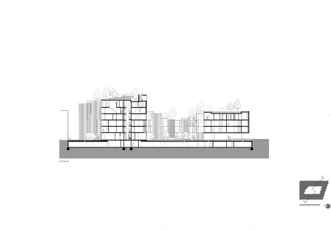 Жилой комплекс 79&PARK © BIG