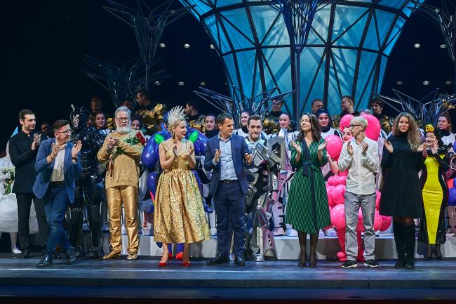Премьера «Волшебной флейты» в «Геликон-опере». Фотография © Сергей Кротов