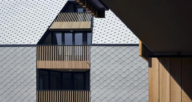 Жилой комплекс «Крыша магазина» © Ofis