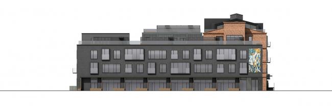 CO_Loft. Фасад, строение 2