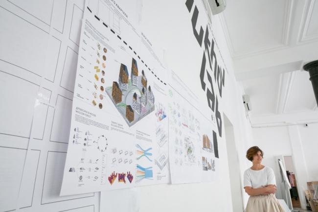 Презентация проекта жилого блока будущего. Фотография предоставлена Шухов Лаб