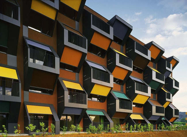 Комплекс социального жилья «Квартиры на берегу» в Изоле. Фото Tomaz Gregoric