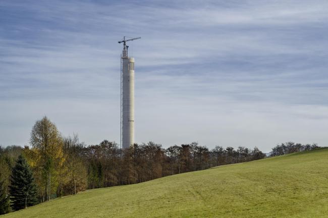 Испытательная башня ThyssenKrupp. Фото © Zooey Braun, Stuttgart