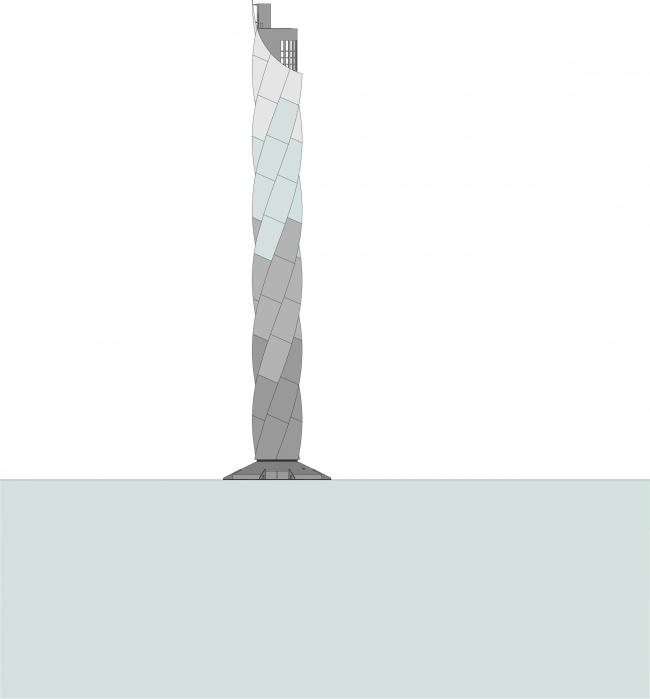 Испытательная башня ThyssenKrupp © Werner Sobek