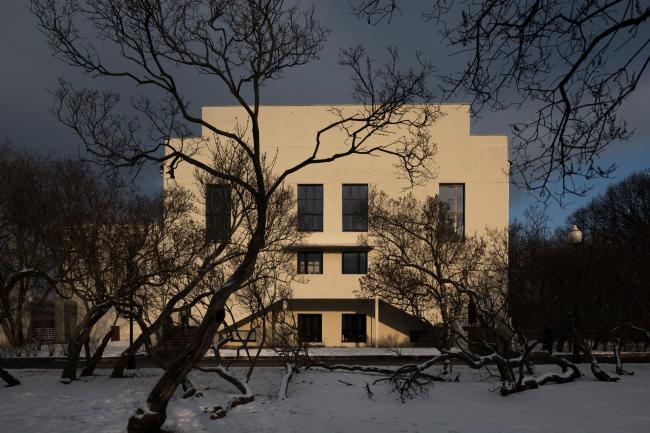 "The ""Garage"" headquarters in Gorky Park. FORM. Photograph © Yuri Palmin"