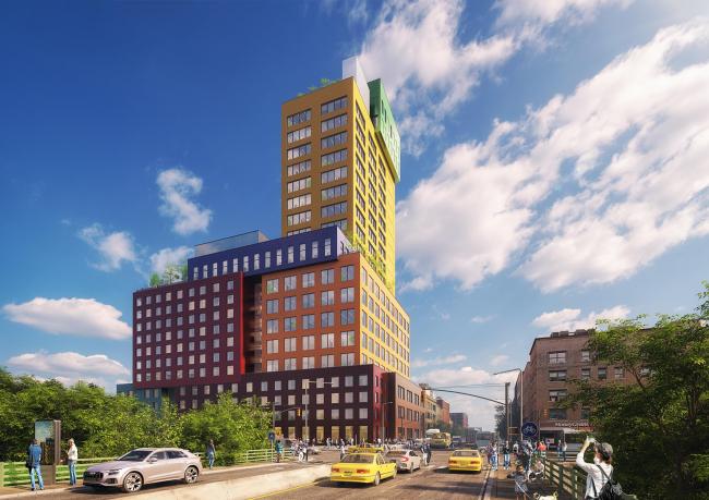 Radio Tower&Hotel © MVRDV