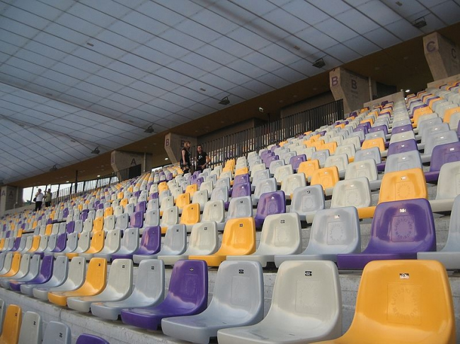 Футбольный стадион в Мариборе. Фото: Andrejj via Wikimedia Commons. Лицензия CC-BY-SA-3.0-migrated