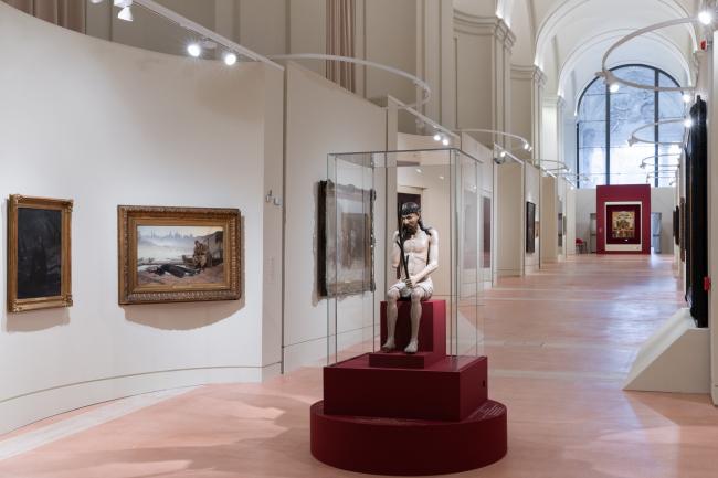 """Pilgrimage of Russian Art. From Dionysius to Malevich"". Vatican, Rome. Exposition design: Sergey Tchoban, Anna Sterligova (Planet 9). Photograph © Vasiliy Bulanov"