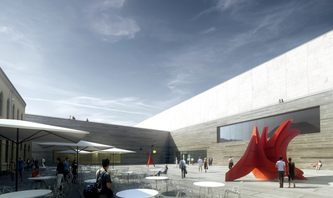 Национальный музей искусства, архитектуры и дизайна © Kleihues + Schuwerk Gesellschaft von Architekten