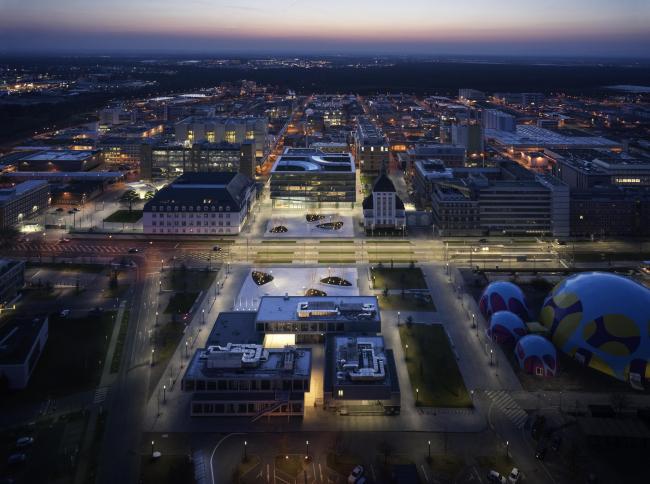 Центр инноваций компании Merck. Фото © HGEsch