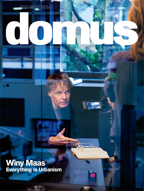 Декабрьский номер журнала Domus. Фотография © Barbra Verbij. Обложка © Domus