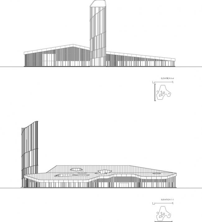 Центр Арво Пярта © Nieto Sobejano Arquitectos