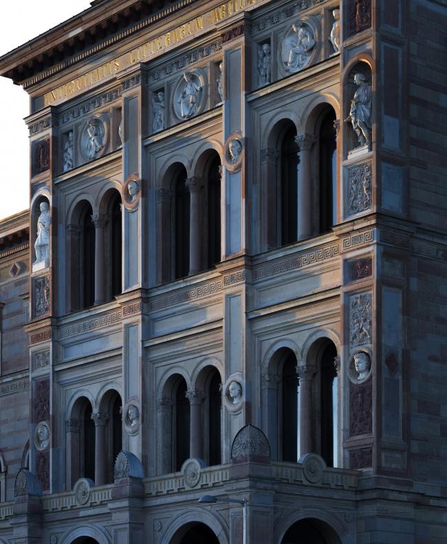 Национальный музей в Стокгольме – реконструкция © Bruno Ehrs