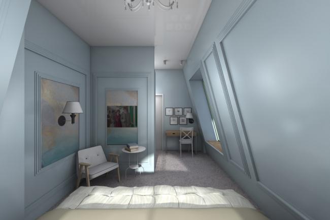 Гостевой дом по ул. Родионова © Проектное бюро DA