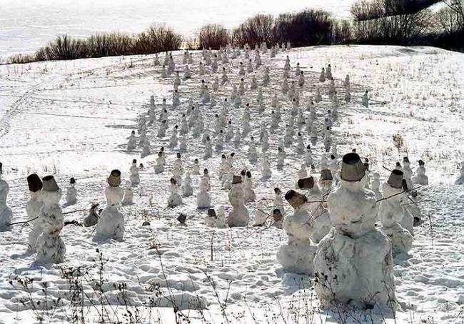 «Снеговики». 2000 г.