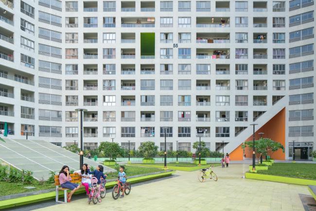 Жилой массив Future Towers © Ossip van Duivenbode