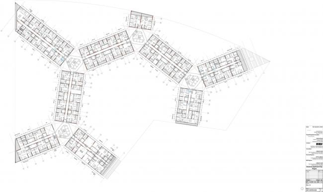 Жилой массив Future Towers © MVRDV