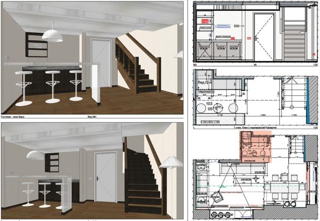 Рисунок 1 – Авторский метод настройки камеры и отображение 3D-видов и чертежей