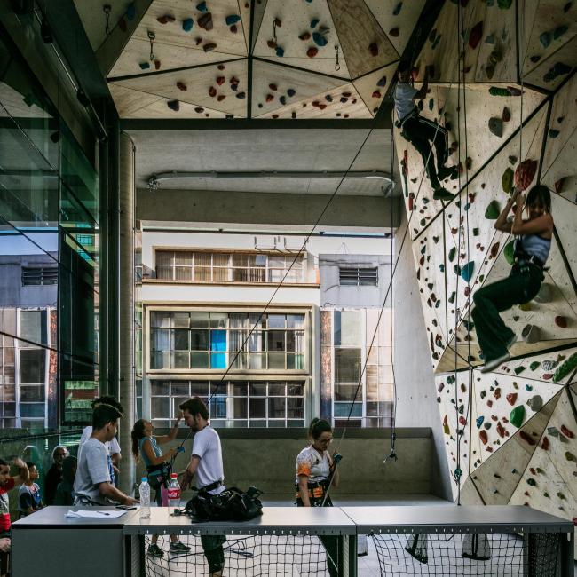 Общественный центр SESC 24 de Maio. Фото © Nelson Kon