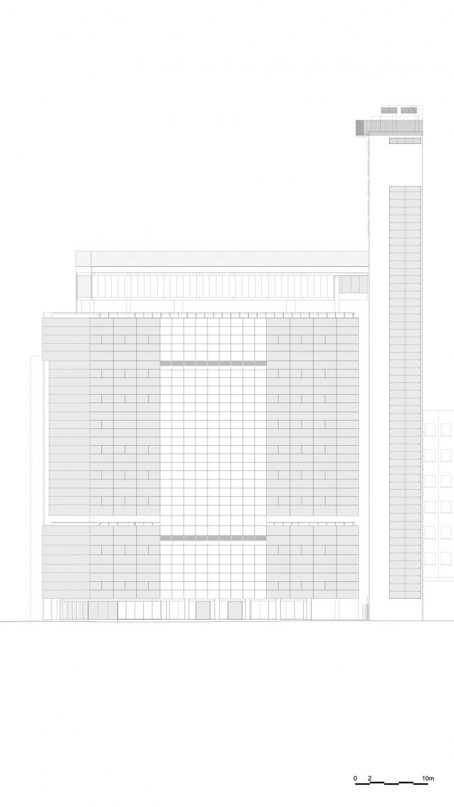Общественный центр SESC 24 de Maio © Paulo Mendes da Rocha + MMBB Arquitetos