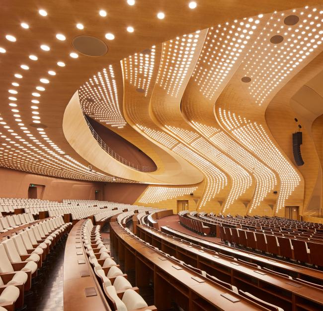 Нанкинский международный юношеский культурный центр. Фото © Hufton+Crow