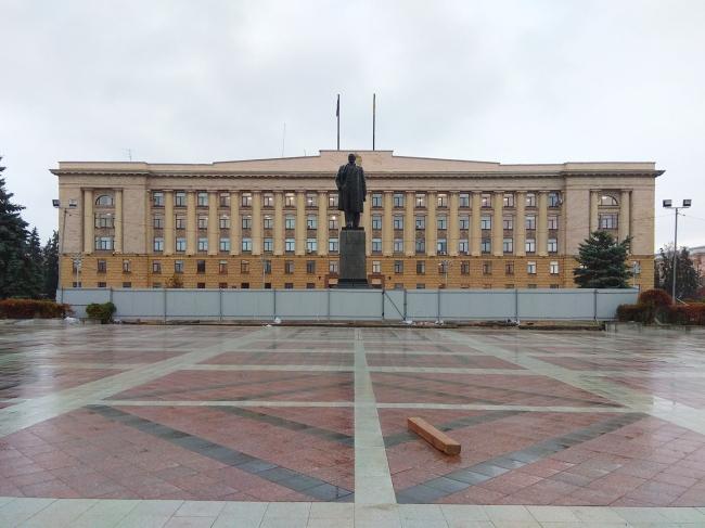 Проект благоустройства площади Ленина в Пензе. Мощение площади