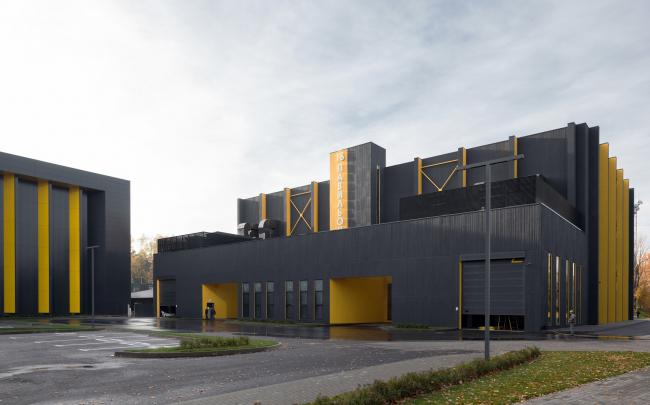Mosfilm production studio © Project bureau APEX. Photograph © Ilia Ivanov