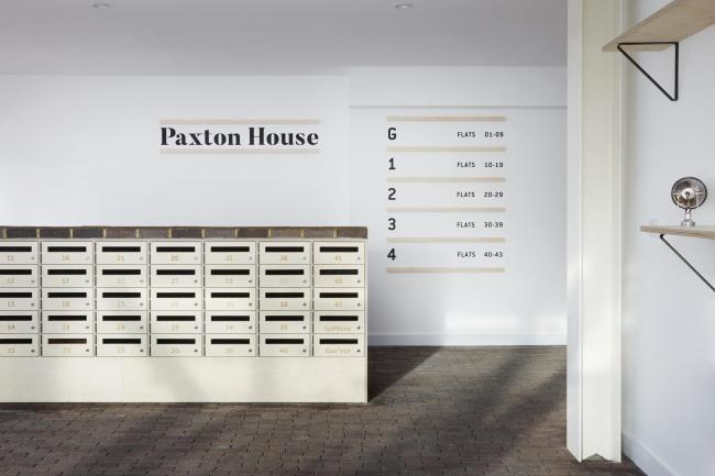 Многоквартирный дом Paxton House. Фото © Jack Hobhouse