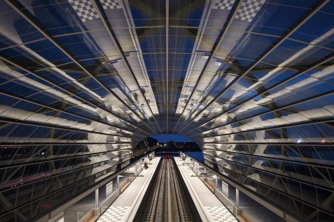 Станция метро «Эльббрюкен». Фото  © Marcus Bredt