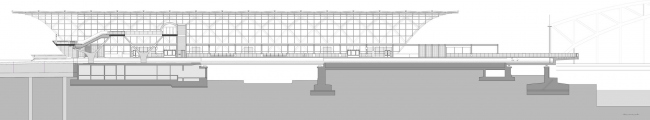 Станция метро «Эльббрюкен» © gmp Architekten