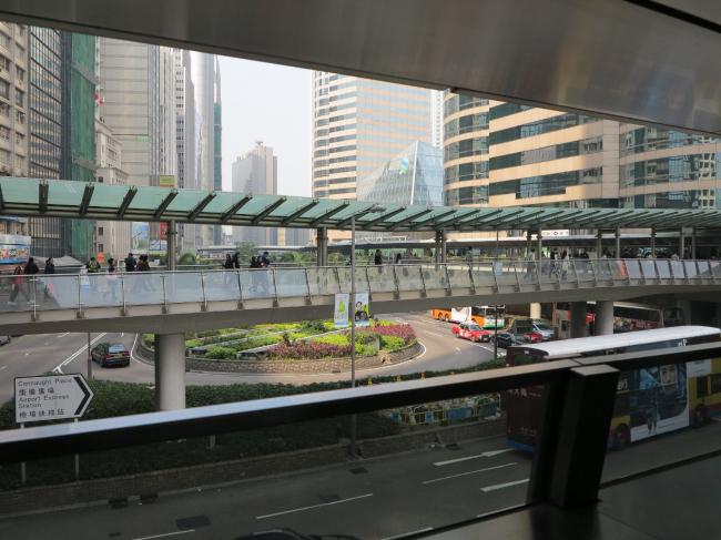 Гонконг. Пешеходный уровень © предоставлено SYNCHROTECTURE