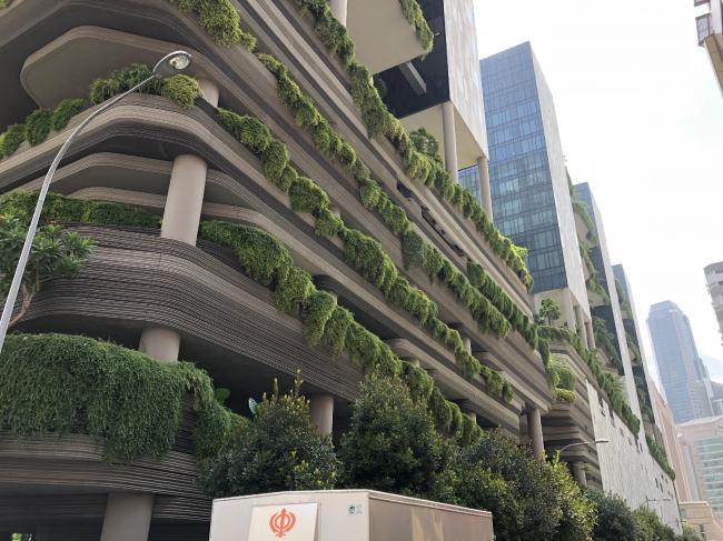 Сингапур. Многоуровневый город. © предоставлено SYNCHROTECTURE