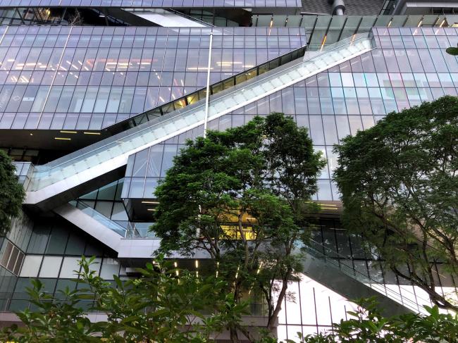 Сингапур. Многоуровневый город © предоставлено SYNCHROTECTURE