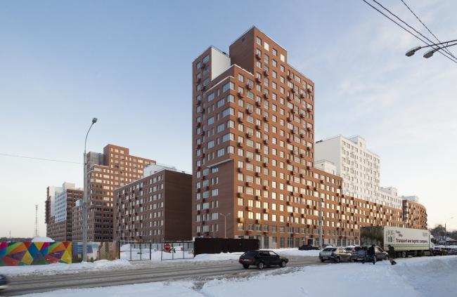 Novokraskovo housing complex. Overview from the Korenevskoe Highway