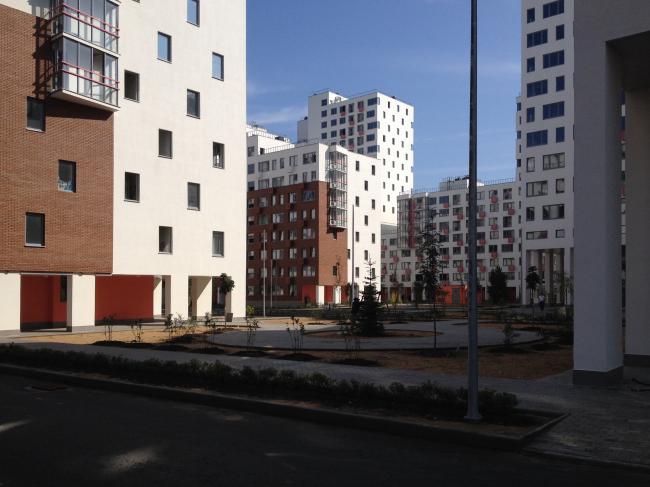 ЖК «Новокрасково». Вид на двор второго квартала