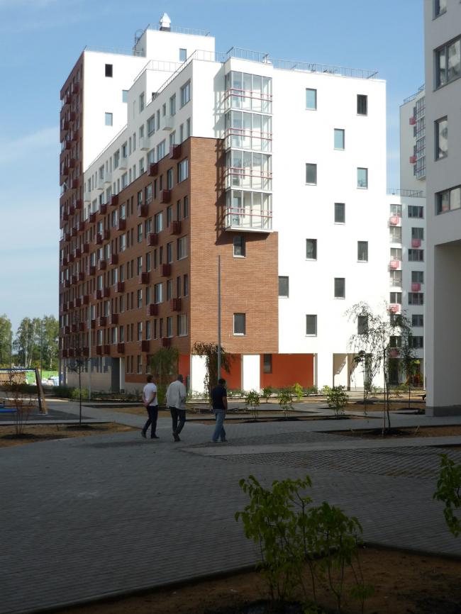 ЖК «Новокрасково». Вид на корпус второго квартала