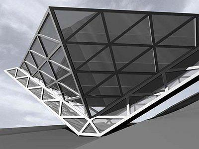 Проект Центра современного искусства на Воробьёвых горах. ОАО «Метрогипротранс»