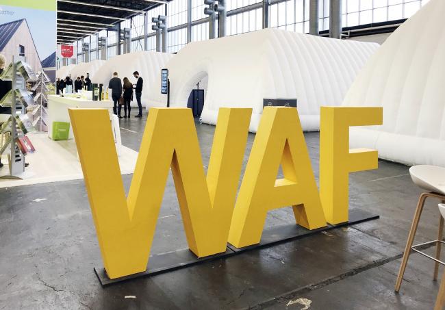 Экспозиция WAF-2018. Комплекс RAI. Амстердам. Фотография Елены Петуховой