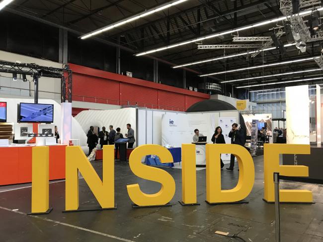 Экспозиция WAF-2018 и интерьерного конкурса INSIDE. Комплекс RAI. Амстердам. Фотография Елены Петуховой