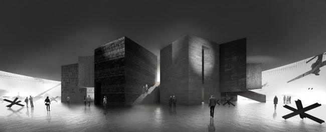 Визуализация к проекту музея «Оборона и блокада Ленинграда». Предоставлено «Студия 44»