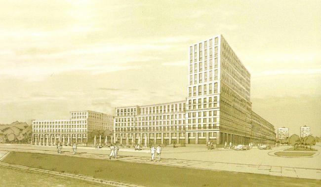 Деловой квартал Полюстрово на территории бывшей фабрики «Россия»