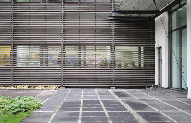 Здание посольства Финляндии в Москве, 2 корпус. Туомо Сийтонен, 1980-е – 1996. Фотография: Архи.ру