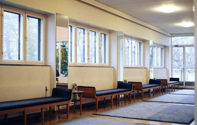 Здание посольства Финляндии в Москве. Хилдинг Экелунд, 1935-1938. Фотография: Архи.ру