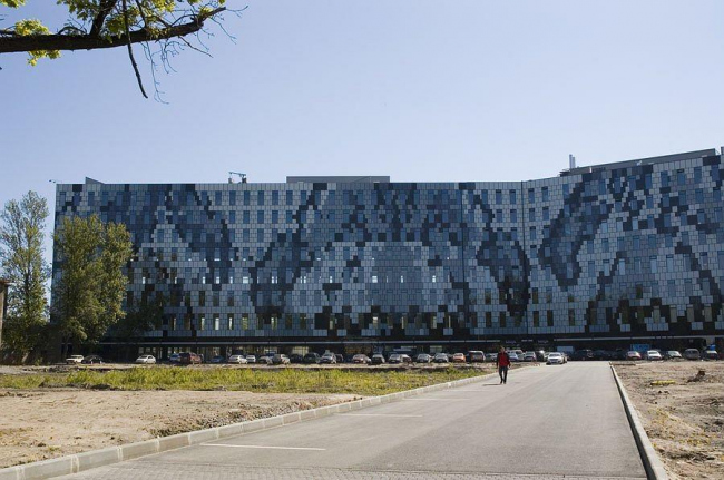 Офисный центр Бенуа на территории бывшей фабрики «Россия». Фото: www.teorema.info