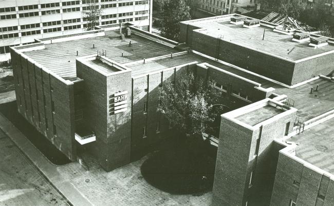 The Krasnaya Presnya bathhouse