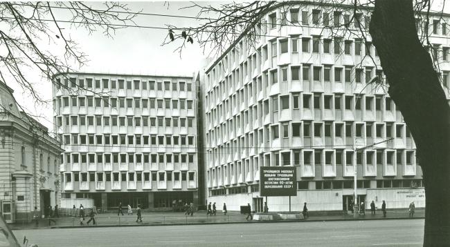 Здание Метрополитена