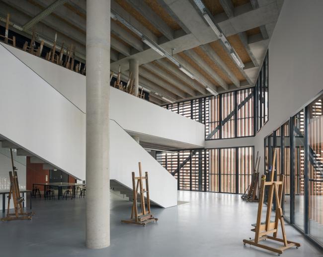 Школа искусств Ла Масана. Фото © Duccio Malagamba