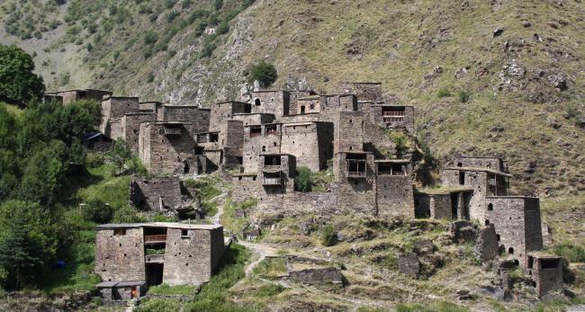 Село Шатили на северо-востоке Грузии. Фото предоставлено UNStudio