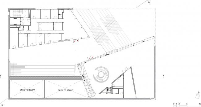 Музей современного искусства MO © Studio Libeskind