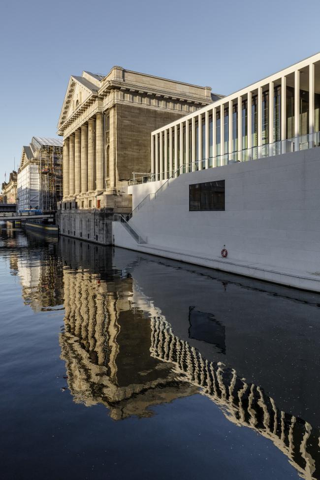 Галерея Джеймса Симона © Ute Zscharnt for David Chipperfield Architects